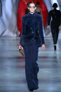 Ulyana sergeenko navy suit