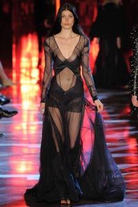 vauthier black dress