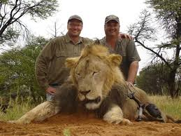 Dentist with another lion kill